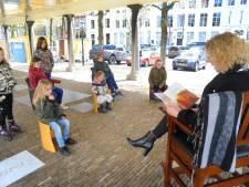 Klaasje Klungel en het badkamermannetje of De geschiedenis van Middelburg: literaire wandeling boeit jong  en oud