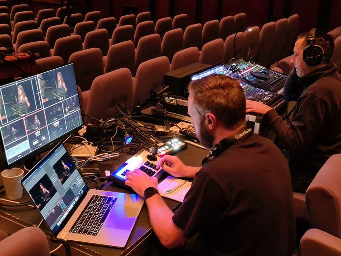 Voor de opnames werkte Klassiek in de Kapel samen met de technische ploeg van CC De Kruisboog.