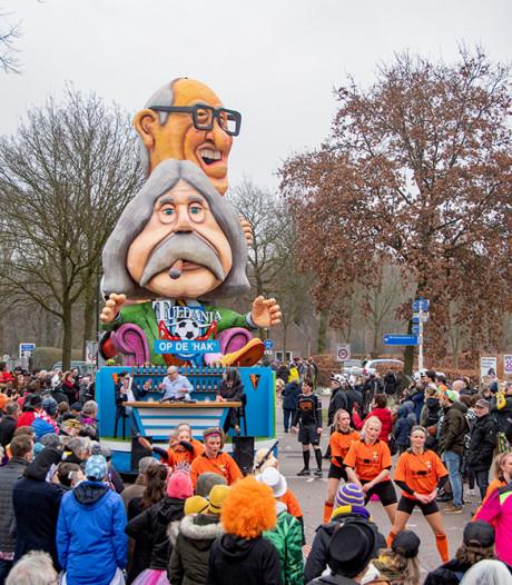 Esbeekse carnavalswagen met 'Snor en Gijp' had serieuze boodschap voor dorp