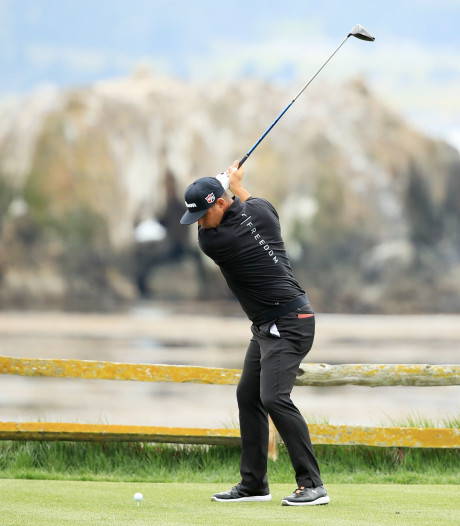 Woodland lost Rose af in Pebble Beach, Woods 'beetje opgefokt' na slechte ronde