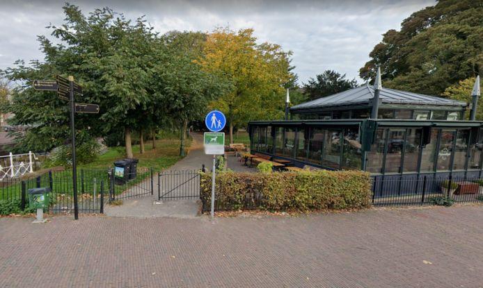 Het Van der Werfpark in Leiden