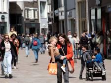 Het winkelhart van Tilburg ontwaakt uit corona-winterslaap: 'We hebben een idioot goede maand'