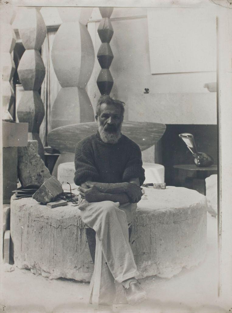Brancusi Constantin (1876-1957).  Beeld Agence photo de la RMN-GP
