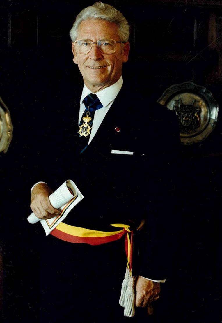 Alfons Saenen (CVP) was 24 jaar lang burgemeester van Bonheiden.