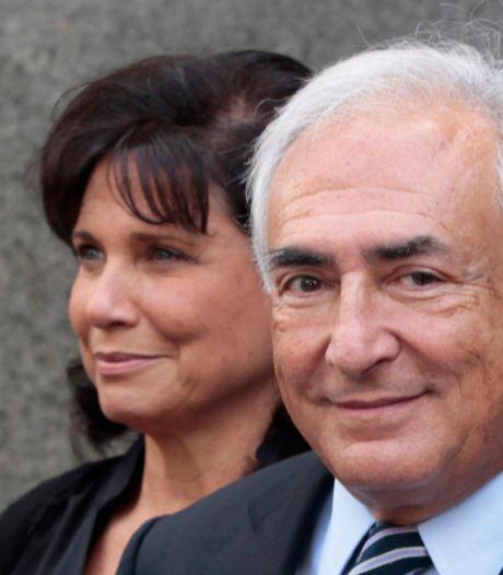 'Echtgenote van DSK wil scheiden'