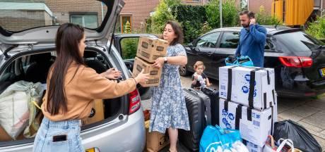 Gelderlanders schieten Turks rampgebied te hulp met dozen vol kleding en speelgoed: 'Hoop niet dat dit nóg erger wordt'