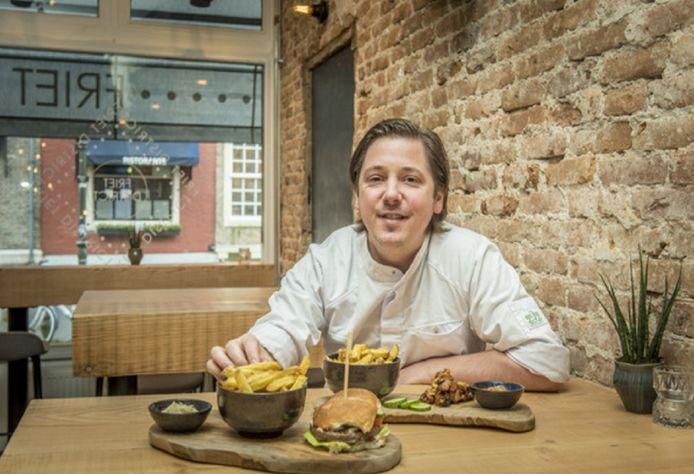 Chef-kok Niven Kunz.