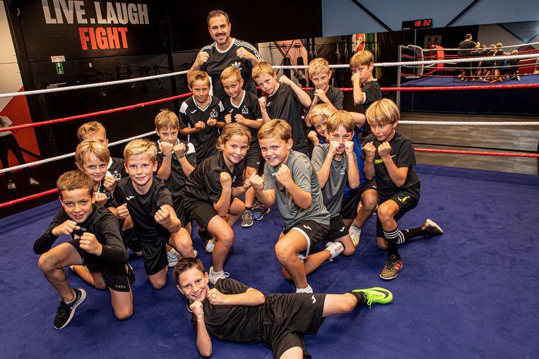 Training U10 van KSV Roeselare niet mogelijk? Dan maar een alternatieve training in de Sugar Boxing Club!