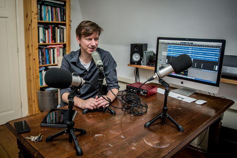 Botte Jellema: 'Op één podcastaflevering krijg ik meer reacties dan op twaalf jaar radio maken' Beeld SHODY CAREMAN