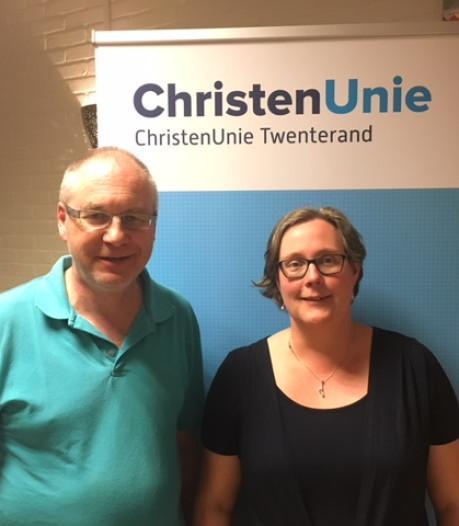 Nieuwe bestuursvoorzitter ChristenUnie Twenterand