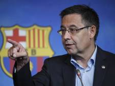 Opération de police au siège du Barça, l'ex-président Josep Bartomeu arrêté