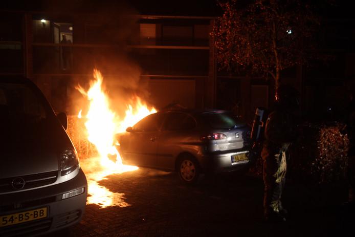 De brand aan de Stein Steuvenstraat.