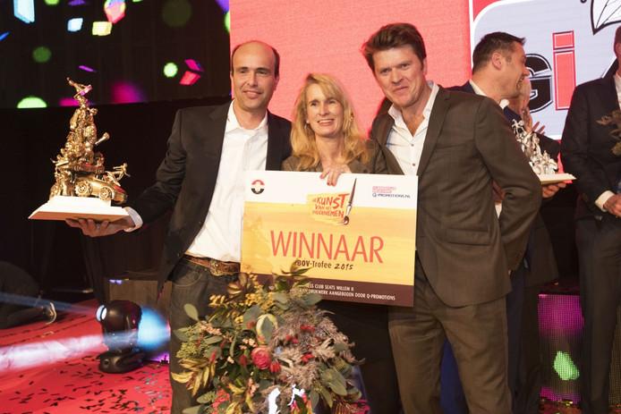 De BOV-trofee 2015 is gewonnen door Toine en Caronline Brock Tobroco uit Oisterwijk.