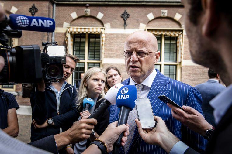 Minister Grapperhaus werkt aan plannen om DNA-onderzoek ruimer in te zetten  Beeld ANP