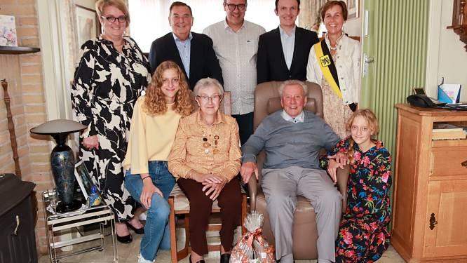 Huwelijksbootje André en Maria vaart 60 jaar