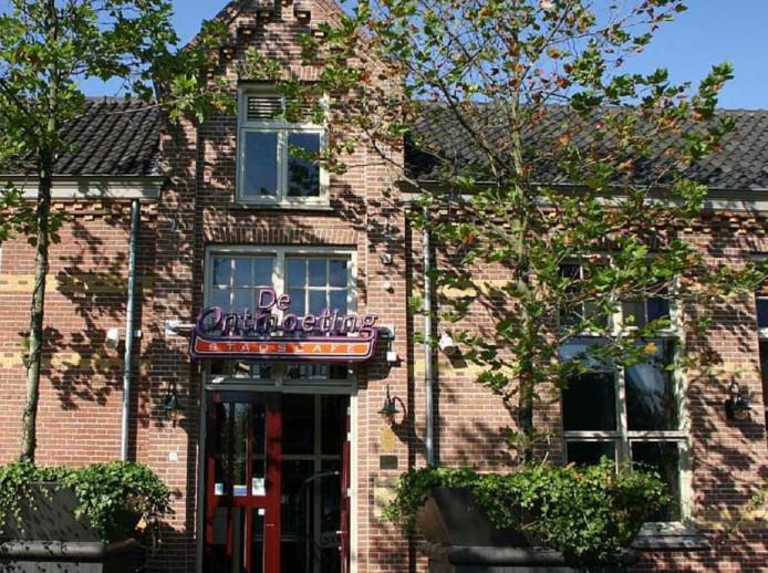 Het café aan de Eikenboomgaard in Oss.