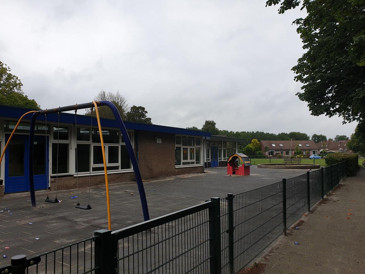 Deze week is er ingebroken bij school De Borgh in Hengelo.