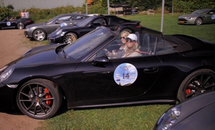 Angelique Collet en  Sandra Dijk werden vijfde in de Porsche 911.