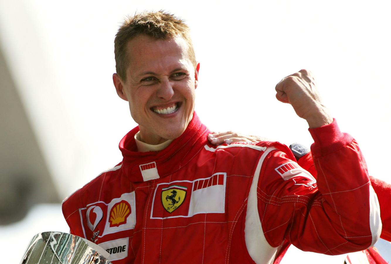 Michael Schumacher is zevenvoudig wereldkampioen in de Formule 1.