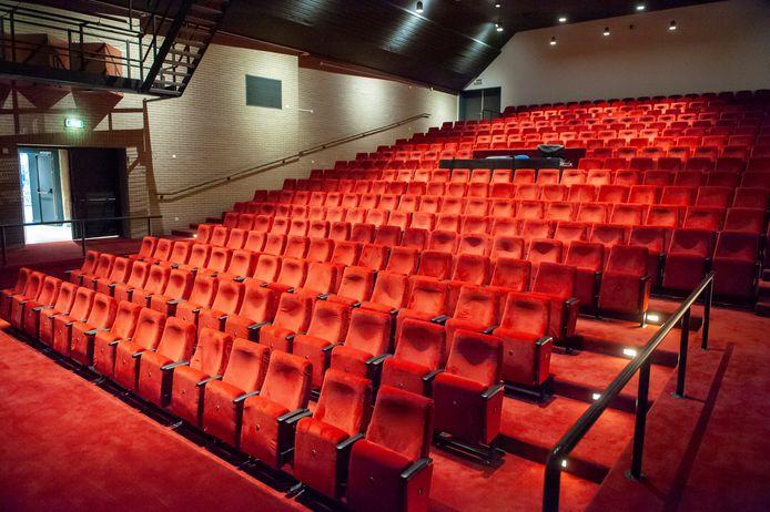De Theaterzaal van De Voorste Venne in Drunen.