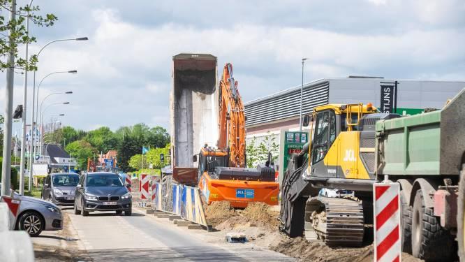 Rioleringswerken in Kontichsesteenweg gaan nieuwe fase in