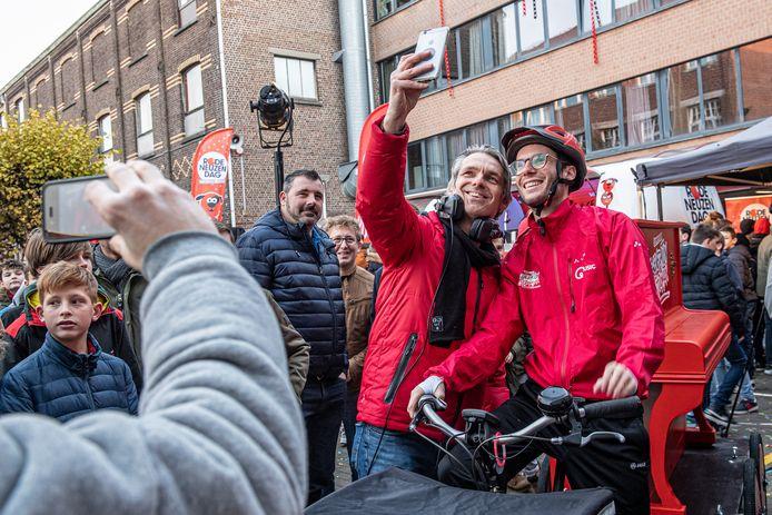 Selfie met Wim Oosterlinck.