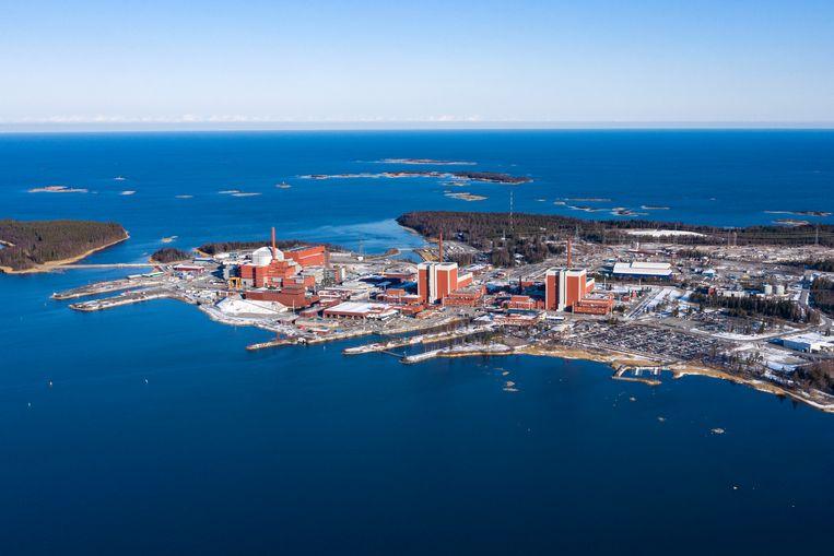 De kerncentrale Olkiluot in Finland. Beeld Julius Schrank/ de Volkskrant