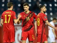 Les Diables Rouges toujours en tête du classement FIFA