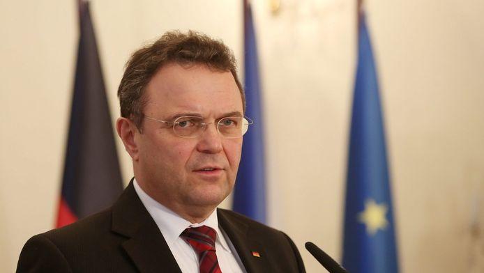 De Duitse minister van Binnenlandse Zaken Hans-Peter Friedrich
