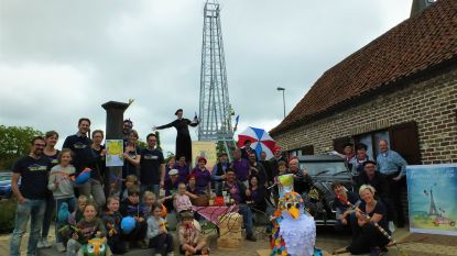 Zeveren Slunse gaat de Franse tour op, inclusief mini-Eiffeltoren
