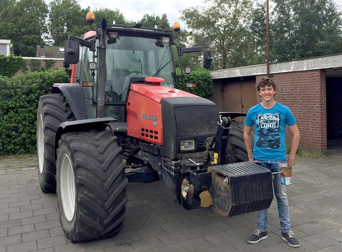 Jeroen Musters kwam niet op de fiets of scooter zijn cijferlijst halen op het JTC in Roosendaal