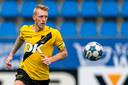 Lex Immers speelde vorig seizoen met NAC in de eerste divisie. Nu zet hij zijn loopbaan een niveau lager voort bij Scheveningen.