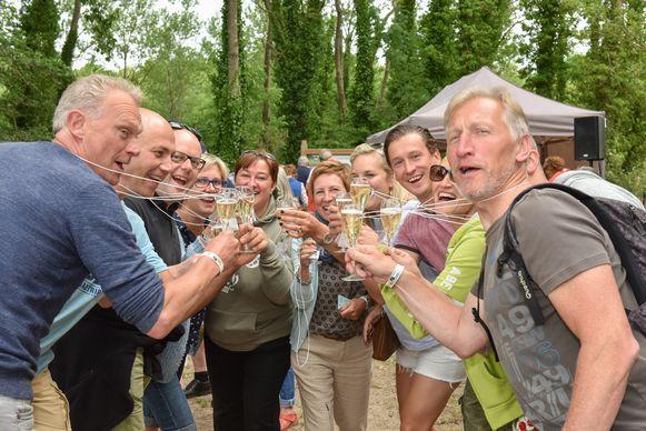 Schrijf je snel in voor de volgende editie van de Champagnewandeling