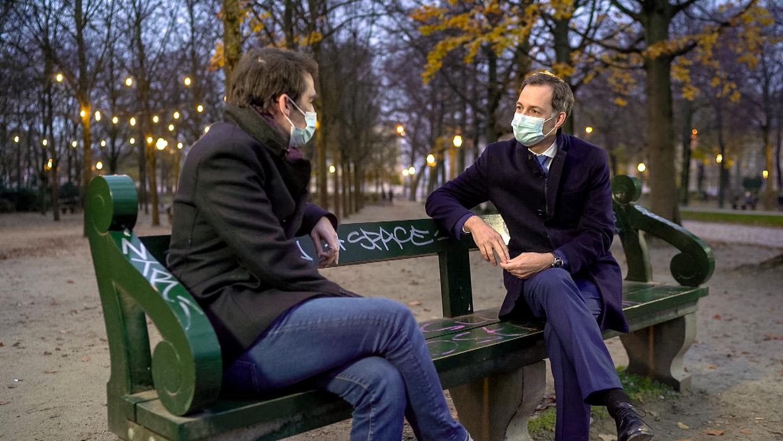 Uw film van het jaar - 2020 - VTM - Freek Braeckman en Alexander De Croo Beeld VTM