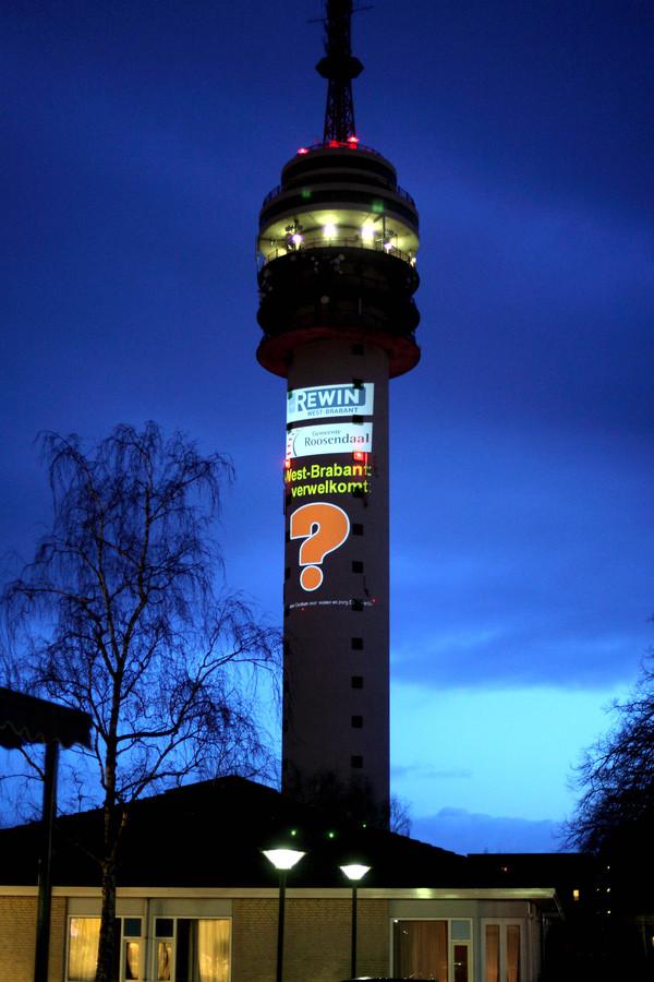 Een vraagteken op de toren. Iedereen vroeg zich af wat dat betekende.