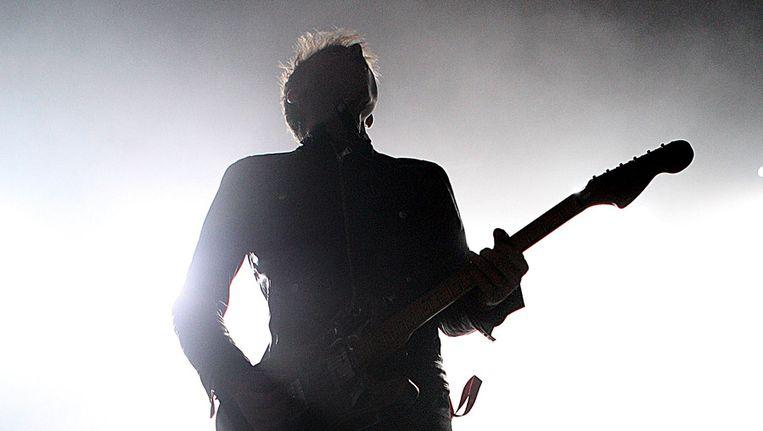 Zanger/gitarist Alex Kapranos van Franz Ferdinand in 2006 in Sydney. Beeld getty