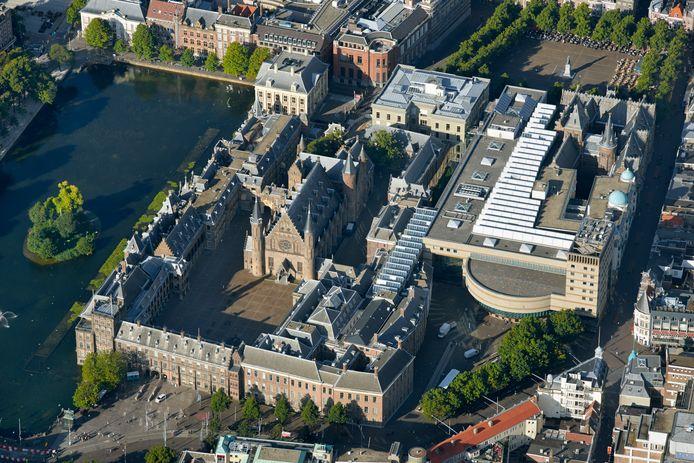 Het Binnenhof is al eeuwenlang het centrum van de Nederlandse politiek.