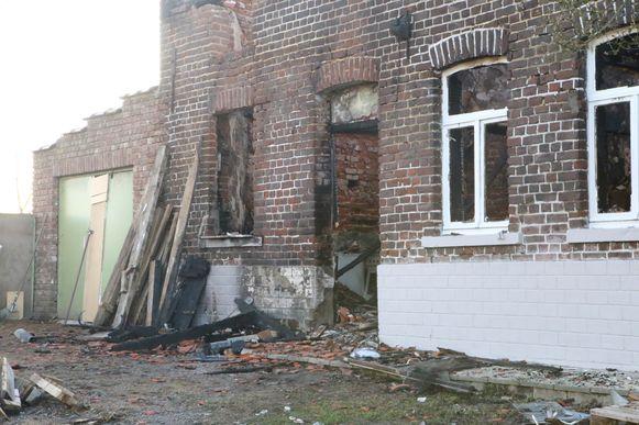ZOUTLEEUW-huis onbewoonbaar na brand