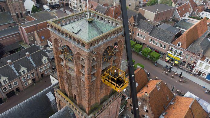 Het carillon in Culemborg is weer helemaal hersteld.