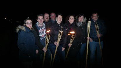 Eerste lichtjeswandeling feestcomité Haringe nu al uitverkocht