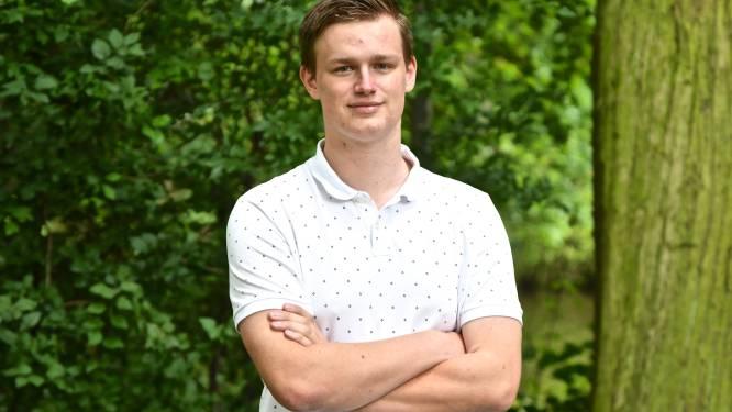 Sam (17) geselecteerd voor Vlaams Jeugdparlement