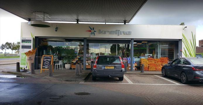 Het pompstation Esso Kreijne.