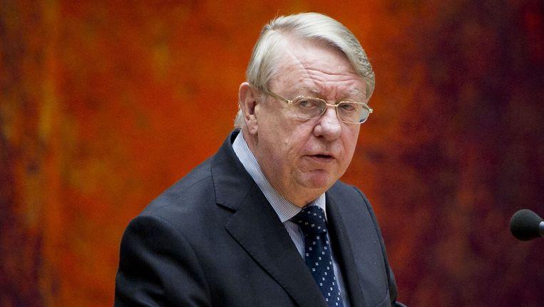 Minister Hans Hillen. Beeld ANP