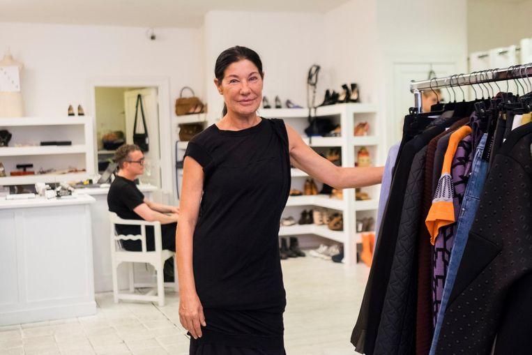 Erna Vandekerckhover, uitbaatster van kledingwinkel Labels Inc, kiest voor de Nationalestraat.