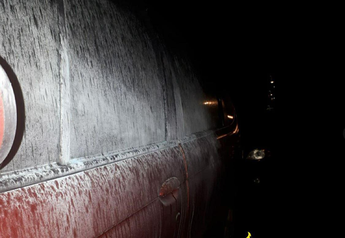 21 auto's werden 's nachts ondergespoten met een laag poeder in de Arnhemse wijk Presikhaaf.