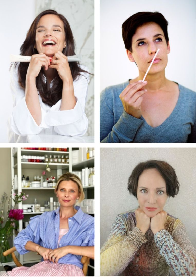 Barbara  Geusens, Sofie Albrecht, Kim Maes en Anne Roggen
