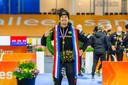 Hein Otterspeer werd bij Team Jumbo-Visma tijdens het schaatsseizoen 2020-2021 Nederlands kampioen sprint.