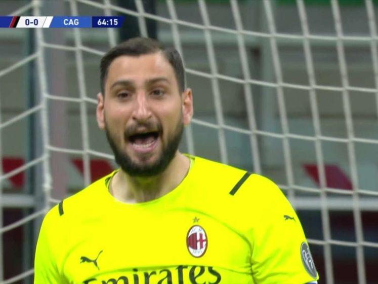 AC Milan loopt averij op tegen Cagliari en moet vrezen voor mislopen CL