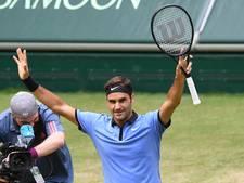 Federer in Halle nu wel langs telg van familie Zverev