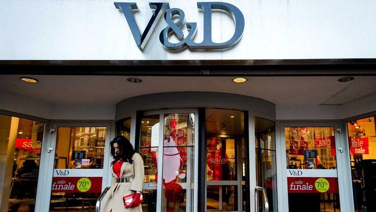 Is dit het einde van V&D, of start het bedrijf in 2016 gewoon weer door? Beeld anp